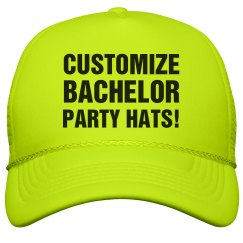 Custom Bachelor Party Hat