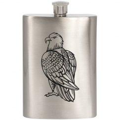 Bald Eagle Flask