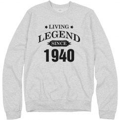 Living legend since 1940