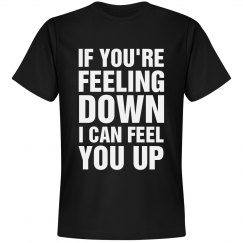 Feeling Down? Pickup Line