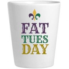 Fat Tuesday Shotglass