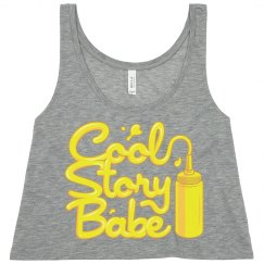 Cool Story Babe Crop