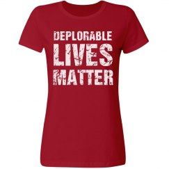 Women's Deplorable Lives Matter
