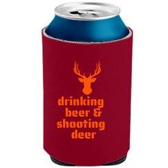 Drinking Beer Shooting...