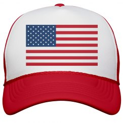 Salute My American Hat