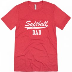 Softball Dad Tshirt