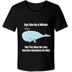 Aye She Be a Whale