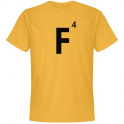 Word Games Costume, Letter Tile F