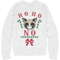 Grumpy Cat Ho Ho No