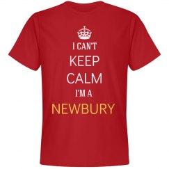 I can't keep  calm I'm a Newbury