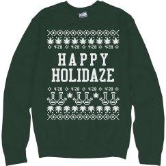 Happy Holidaze Ugly Sweater
