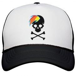 Brony Skull Trucker