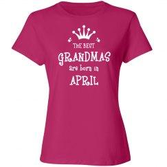 The best grandmas are born in April
