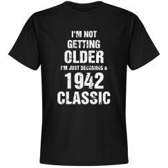 1942 classic birthday shirt