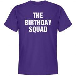 The birthday squad shirt