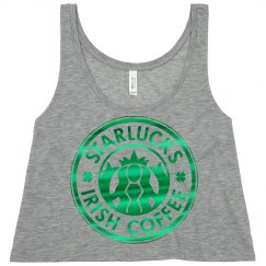 Metallic Knock Off Coffee Logo