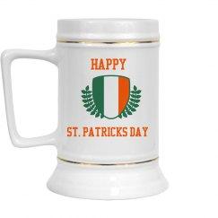 Happy St Patricks Day Drinkware