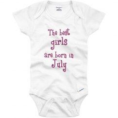 Best girls born in July