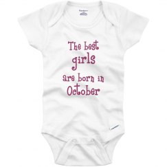 Best girls born in October