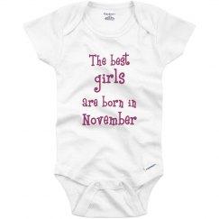 Best girls born in November