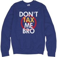 Cross Out Tax Bro