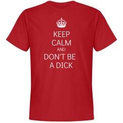 Keep Calm Dick
