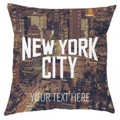 New York City All Over Print Pillow