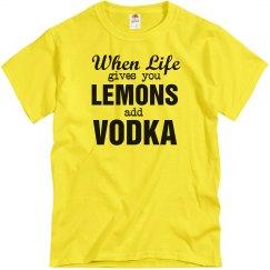 Add Vodka To Lemons