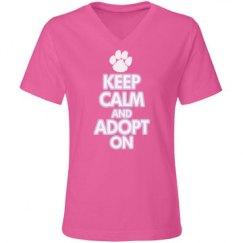 Keep Calm and Adopt On