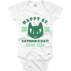 Custom St. Catrick's Day Onesie