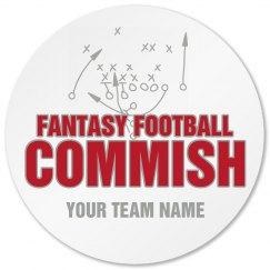 Commish Coaster