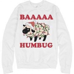BAA HUMBUG Sheep Pun