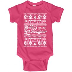 Daddy's Lil Monster Onesies