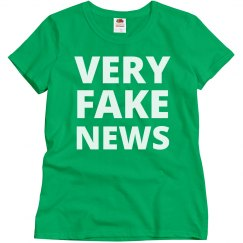 Very Fake News Funny Politics Trump