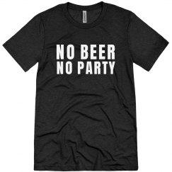 No Party No Beer