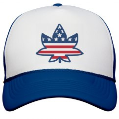 Canadian American Trucker Hat