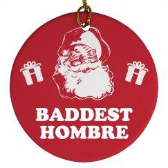 Donald Trump Ornament Bad Hombre