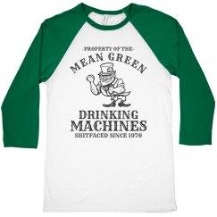 St. Patrick's Day Drinking Team