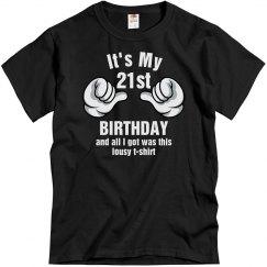 Lousy birthday shirt
