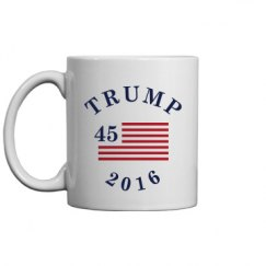 Trump 45th Presidential Mug
