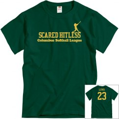 Scared Hitless Tee w/Back