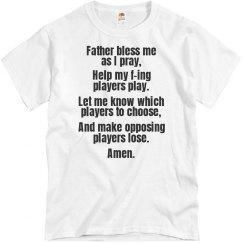 Fantasy Football Prayer