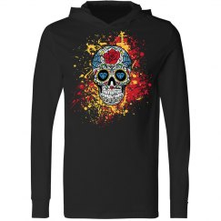 Cinco de Mayo Skull Hoody