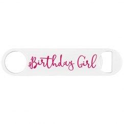 21st Birthday Girl Bottle Opener