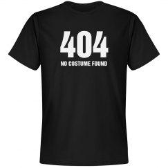 404 No Costume Found