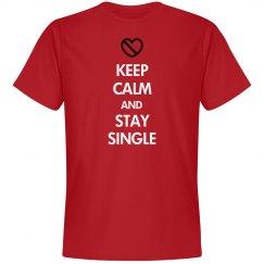 Keep Calm Stay Single