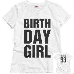 Birthday Girl made in 93