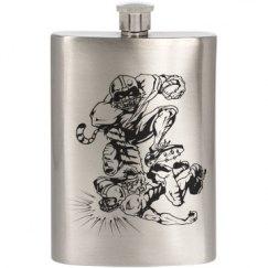 Tiger/Football Flask