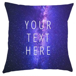 Custom All Over Print Space Pillow