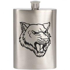 Saber-Toothed Tiger Flask